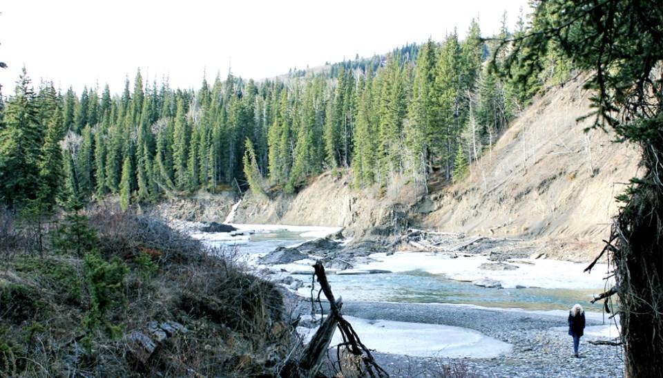 Jane at Bow River Calgary CA