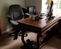 Desk from office